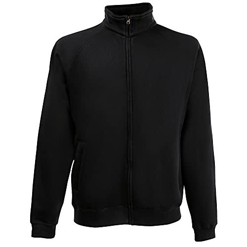 Classic Sweatjacke - Farbe: Black - Größe: XXL