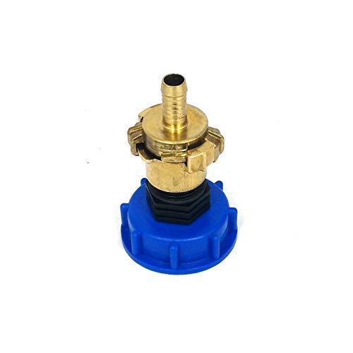 CM135100104 Kappenverschraubung S60x6 + GEKA - Messing-Kupplung IG 1