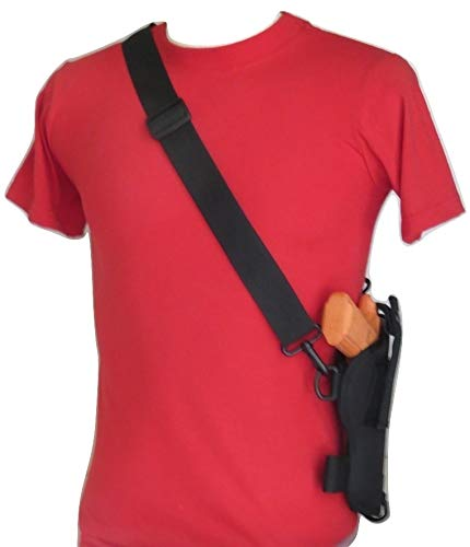 Federal Bandolier Shoulder Holster for 1911 Style Pistols Such as Colt 45, Springfield, Kimber Sigarms & Similar