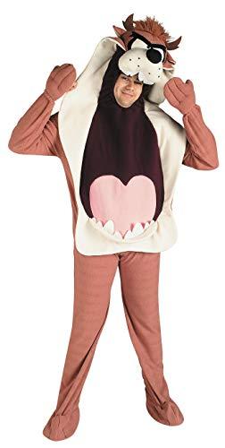 Rubie's-déguisement officiel - Looney Tunes - Costume Adulte Taz - Taille Standard- I-16400