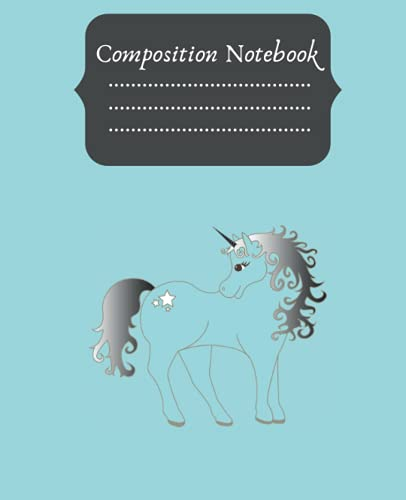 Horse Composition Notebook: Composition Notebook Wide Ruled for girls, kids, school, students and teachers, for Girls or Boys , Back to Scool Gift ... Wide Ruled. 7,5x9,25 Smart Compositions