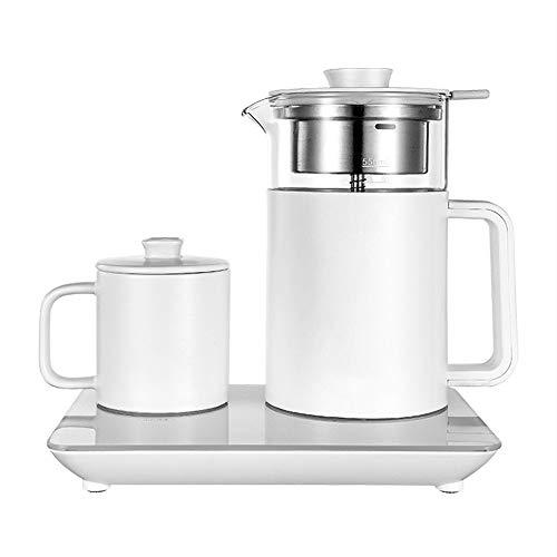 N / C 600-W-Teekocher, 55 ° C konstante Temperatur, Verbrühschutzdeckel, Touchpanel, kann auch zum kabellosen Laden verwendet Werden und eignet Sich für Teekannen zu Hause und im Büro.