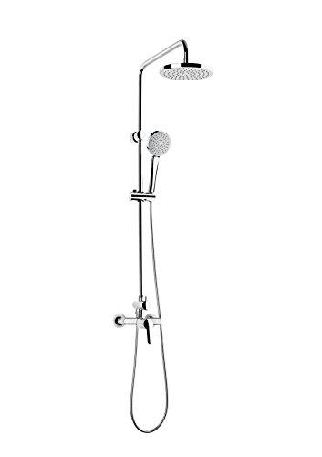 Roca A5A9725C00 Victoria - Columna termostática para ducha, Cromado