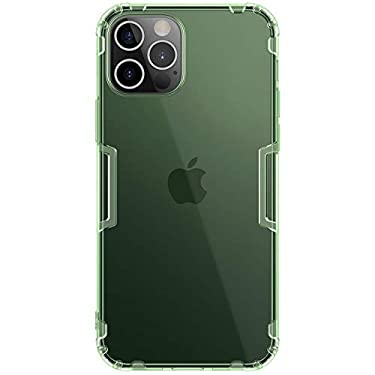 """Nillkin Case for Apple iPhone 12 Pro Max (6.7"""" Inch) Nature Series Back Soft Flexible TPU Green Color"""