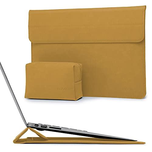 HYZUO 13 Pulgadas Funda Protectora para Portátiles con Función de Soporte Compatible con MacBook Air 13 M1 2018-2021/MacBook Pro 13 M1 2016-2021/Dell XPS 13/Surface Pro X 7 6 5 4 3/iPad Pro 12,9 2021