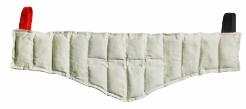 Relief Pak-11-1311 Moist Heat Pack to ease Aches and Pains from arthritis, back pain, muscle strains, stiff neck, sprains, stiff joints, bruises, general soreness and spasms. Neck Contour - 7 x 24 -
