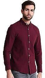 NxtSkin Mens Cotton Full Sleeve Shirt