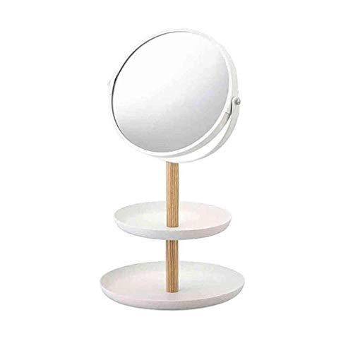 NA ECSWP Maquillaje Maquillaje de ampliación mirrorc 360 Rotación Mejores Regalos for Las Mujeres señora Girl