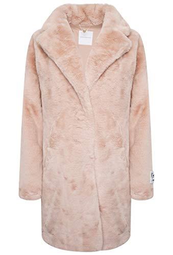 Fur RinoPelle Women's Joela Faux 40UK 12 Coat RoseEU Misty wvN80mn