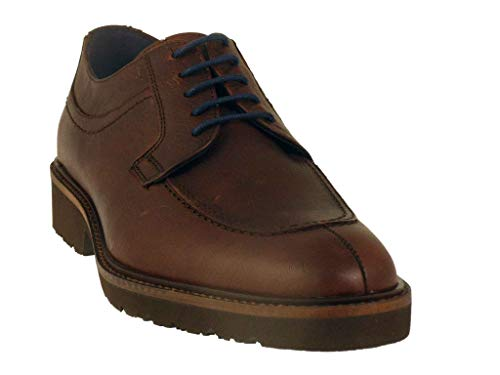 Zapatos con cordones – Fluchos-F0045-marrones, Marrón (marrón), 42 EU