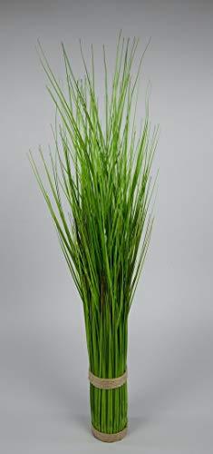 Seidenblumen Roß Grasbund 85cm grün DP Dekogras künstliches Gras Kunstpflanzen Kunstgras künstliche Pflanzen Ziergras