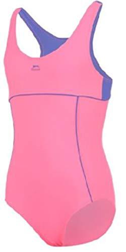 5-6 Jahre Slazenger Mädchen Badeanzug in der Farbe : pink/blau