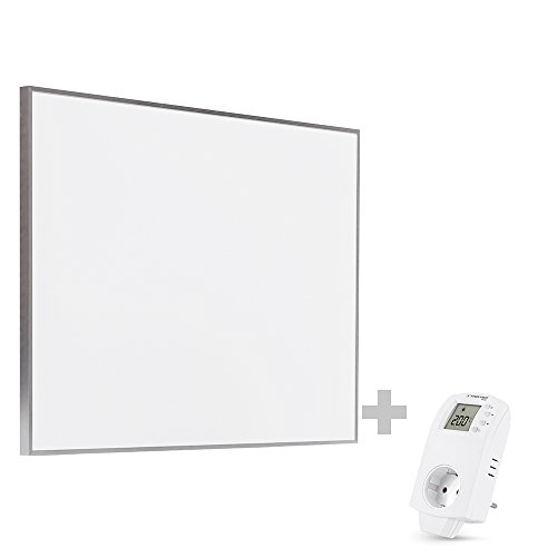 TROTEC TIH 500 S Infrarot-Heizplatte Infrarotheizung Heizpaneel 580 Watt inkl. Steckdosen-Thermostat BN30