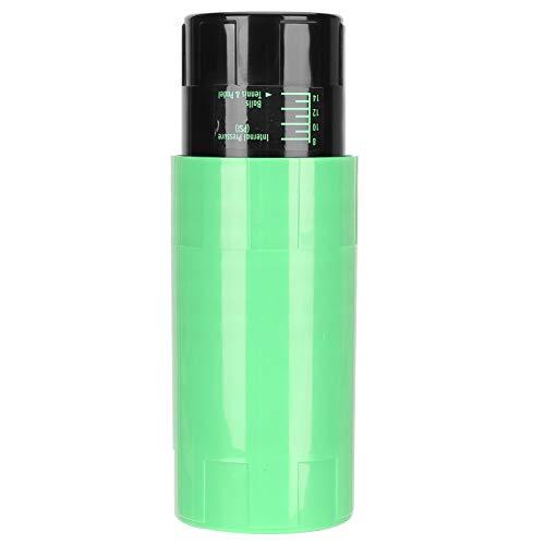 Wosune Caja para Pelotas de Tenis, contenedor de Pelotas de Tenis de plástico Ligero Reforzado con Fibra Que Mantiene la presión para Tendencias Deportivas(Green)