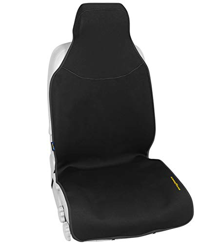 GOODYEAR, Water Resistant Neoprene Fabric for Maximum Protection  Side Airbag Compatible  Fits Most Vehicles  Easy Slip-on  Adjustable Straps