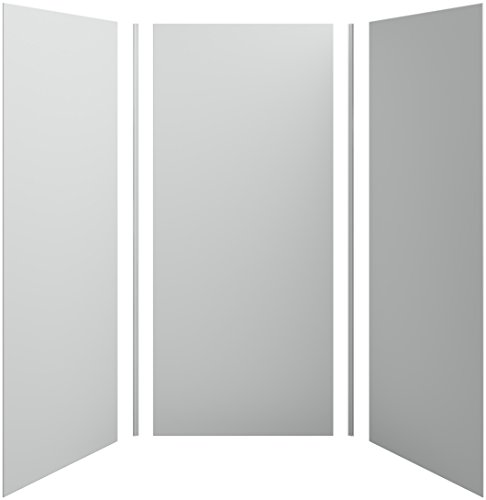 Fantastic Deal! KOHLER K-97613-95 Choreograph 42″ x 42″ x 96″ Shower Wall Kit, Ice Grey