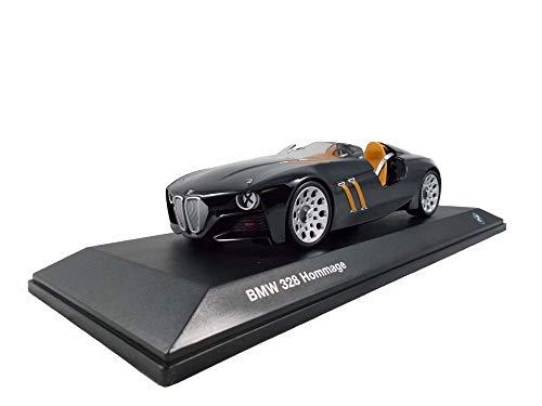 BMW 328Hommage Collection modèle voiture miniature échelle 1: 18noir