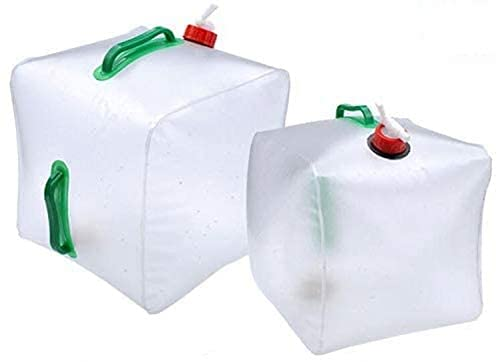2 Stück Wasserkanister Faltbar 20L,...