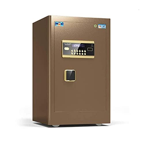 Caja fuerte de diseño para el hogar, caja fuerte para gabinete, caja de seguridad, caja fuerte para gabinete extra grande con código de estante extraíble y llave de anulación de emergencia, alarma inc