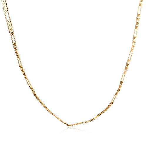 Collar de Cadena para Hombre, Elegante, de Base Casual Simple, Cobre, Chapado en Capa, Accesorio para Collar, Cadena