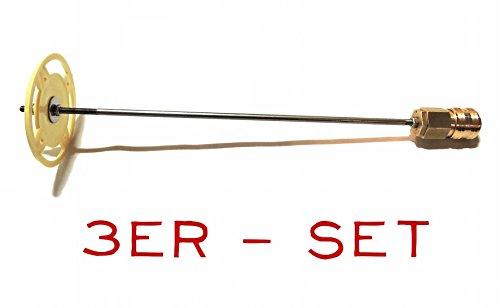 Ablänghilfe-Set 25-33-100 cm mit Schnellkupplung + Adaptermutter