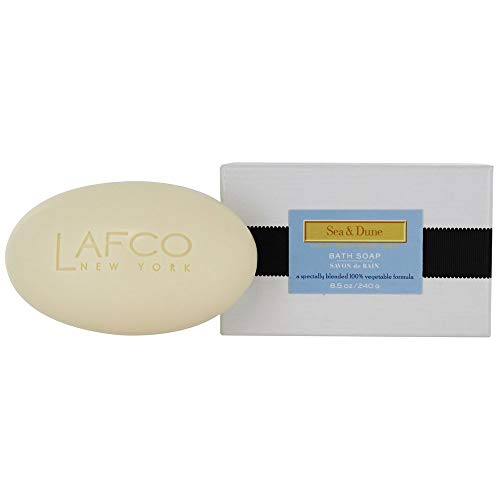 LAFCO New York Ultra Hydrating Natural Scented Bar Soap (Sea & Dune, 8.5 oz.)