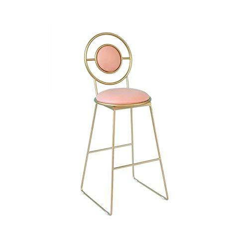 XNLIFE barkruk barstoelen moderne kroeg comfortabele barkruk rugleuning Outdoor Bistro Cafe bureaustoel