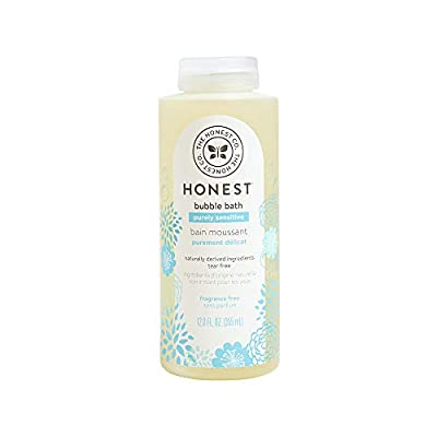 The Honest Company Purely Simple Bubble Bath, Fragrance Free, 12 Fl Oz (Pack of 1)