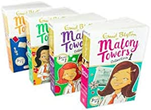 Malory Towers 4 Book 12 Story Collection - Ages 9-14 - Paperback - Enid Blyton