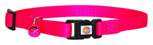 Hamilton Sicherheitshalsband für Katzen, verstellbar, Adjustable, hot pink