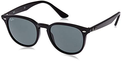 Ray-Ban Unisex RB4259 Sonnenbrille, Mehrfarbig (Gestell: schwarz,Gläser: grün 601/71), Medium (Herstellergröße: 51)