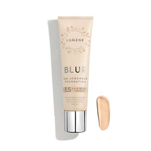 LUMENE BLUR FOUNDATION 1,5 FAIR BEIGE 30ML