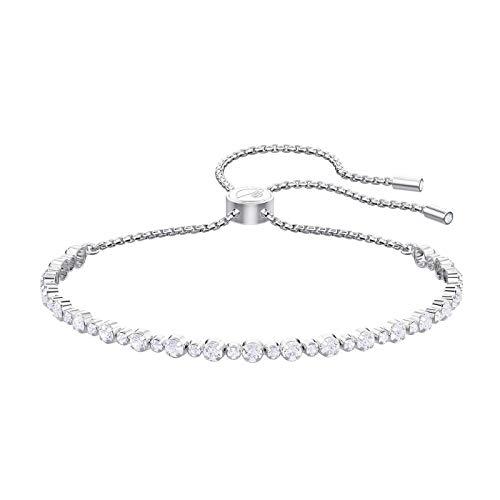 Chqinit Armband Subtle 5465384 - Pulsera de Metal rodiado, Color Blanco