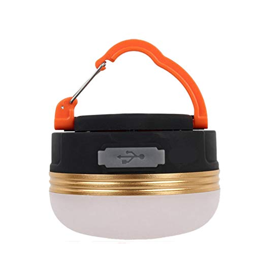 ZHBD Portable LED Tactical Camping Lantern,Ultra Bright Outdoor Tent Lantern with Retractable Hook and 3 Modes,Water Resistant,Best for Camping,Tent,Emergency