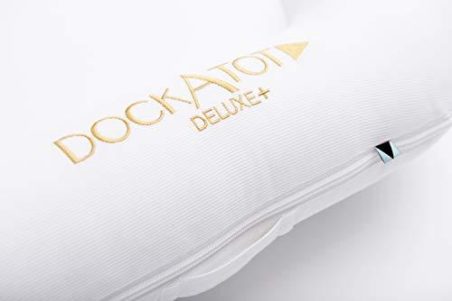 DockATot(ドッカトット)デラックスDeluxe+ベビーベッドベッドインベッド添い寝ポータブルクーファン0-8ヶ月PristineWhite(プリスティンホワイト)
