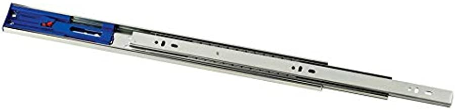 Promark 100LB Capacity Full Extension Soft/Self Closing Side Mount Drawer Slides (22 Inches-10 Pack)