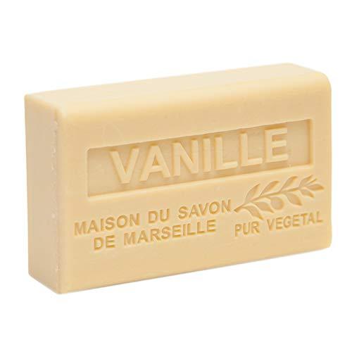 Seife Vanille mit Sheabutter 125 g - Maison du Savon de Marseille
