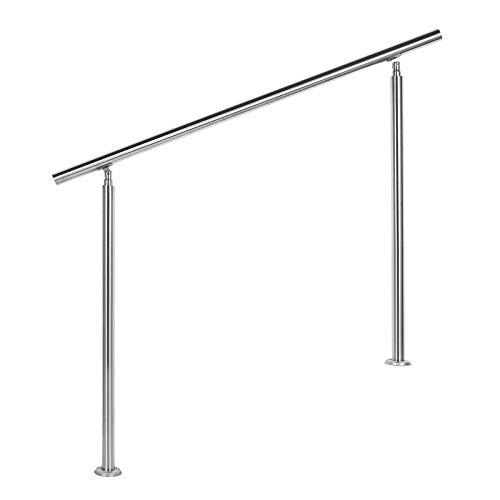 Treppengeländer Edelstahl 120cm Brüstung Handlauf Geländer Treppe