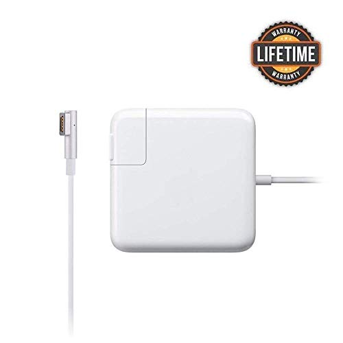 MacBook Pro Charger, 85W Quick Power Adapter Magnetic L Tip Charger Replacement for MacBook Pro 13/15/17 inch(Before Mid 2012)