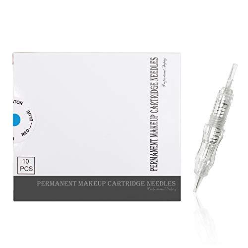Biomaser® Tattoo Nadeln Einweg Nadeln für Permanent Make-up Tätowierung Pen Maschine 10er Pack (1R0.3mm)