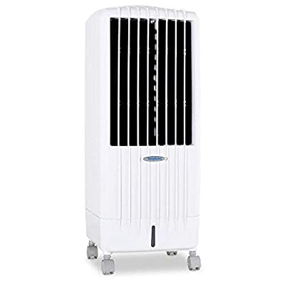 D8i Portable Evaporative Air Cooler With Remote Control, 3 Fan Speeds Oscillating Louvers, Advanced i Technology, Air Purifier, 4 Hour Timer and 8 Litre Water Tank For Home or Office Use