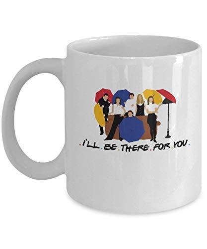 Voy a estar allí para ti Taza de café (blanco) 11oz Friends Tv...