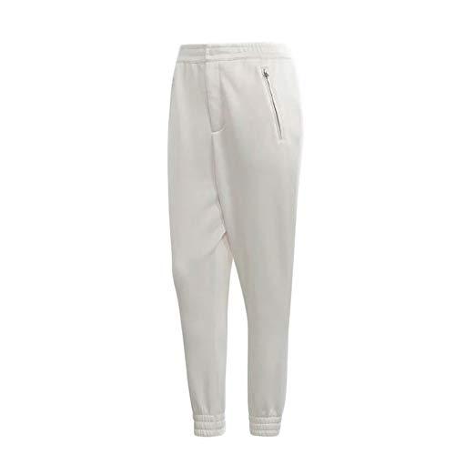adidas Kaval Cuffed Pantalones de chándal de Mujer en Tela Blanca DN5564