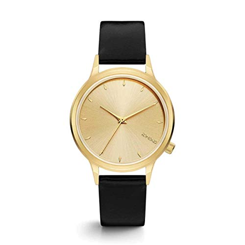 Komono - Reloj de Pulsera analógico para Mujer (Cuarzo, Talla única), Color Dorado y Negro