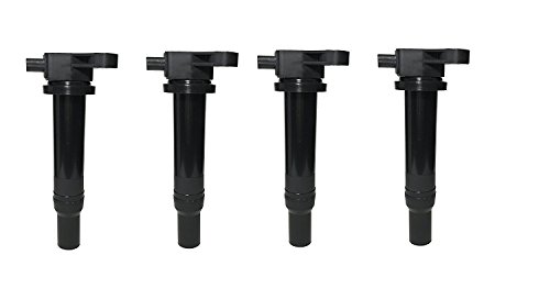 Ignition Coil Pack Set of 4 - Fits Hyundai Accent, Kia Rio - Replaces #27301-26640 - Ignition Coil Pack Fits 2010 Hyundai Accent, 2009 Hyundai Accent, 2006 Kia Rio, 2007 Kia Rio and More