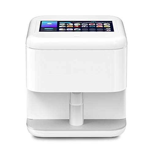 YILIAN Intelligent Digital Nail Art Printer, Portable 3D Nail Painting Machine, Can Be Connected By Mobile Phone, One-Click Coloring, DIY Image