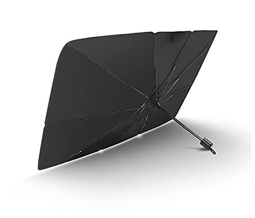 BHDCH Sombrilla De Coche Protector Solar Delantero De Coche Parasol De Ventana Delantera De Coche para Evitar El Envejecimiento De Los Accesorios(Size:145x79cm,Color:B1)