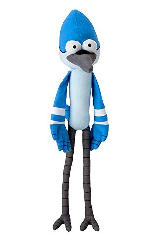 "Cartoon Network Regular Show Mordecai 18"" Plush (Toy Factory)"