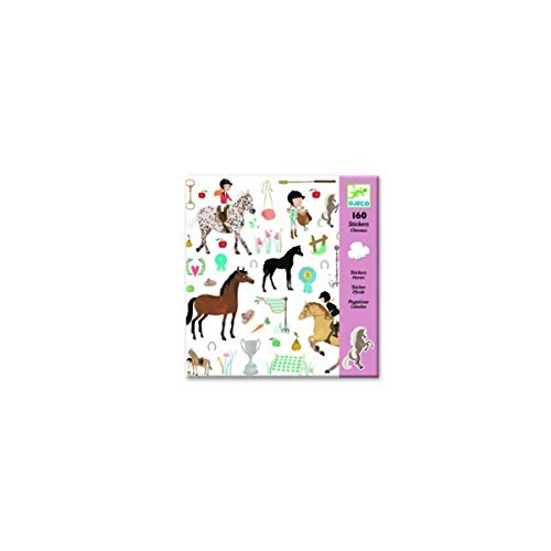 DJECO Stickers Chevaux