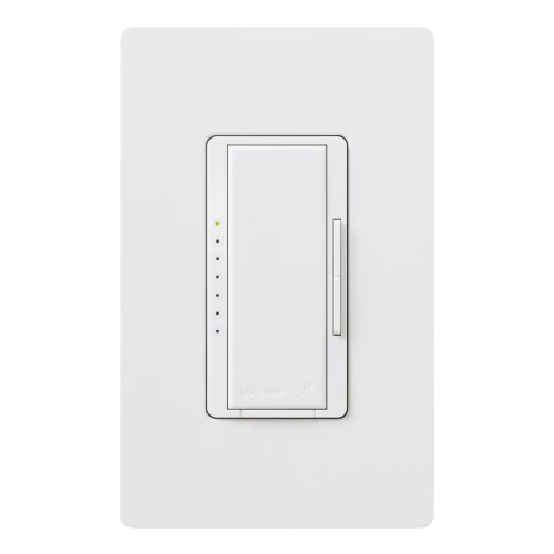 Lutron MRF2-6ND-120-WH Maestro Wireless Magnetic Low Voltage Dimmer, White